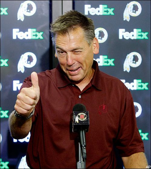 Coach Jim Zorn